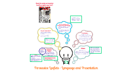 Persuasive Leaflets: Language and Presentation
