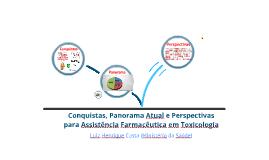 Assistência Farmacêutica em Toxicologia