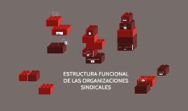 ESTRUCTURA FUNCIONAL DE LAS ORGANIZACIONES SINDICALES