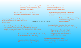 Keywords for Matters of life and Death-RS