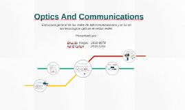 Optics And Communications