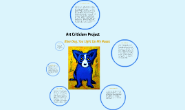 Art Criticism Practice Joslin Good Example