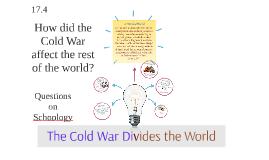 The Cold War Divides the War