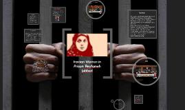 Copy of Iranian Women in Prison: Reyhaneh
