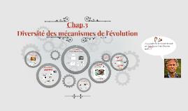 Evolution - Chap.3