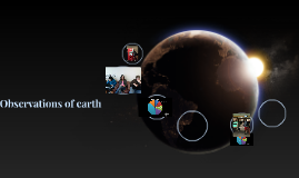 Observations of earth