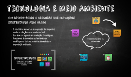Copy of Tecnologia Sustentável
