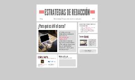 Presentación (Estrategias de Redacción)
