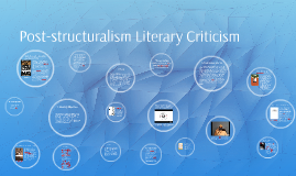 structuralism and literary criticism For a brief decade or two in the mid twentieth century, a literary theory called structuralism reigned supreme it used linguistics as popularized by saussure to.