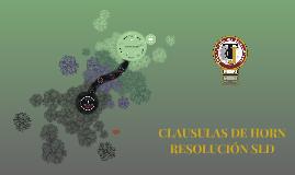 Copy of CLAUSULAS DE HORN RESOLUCION SLD