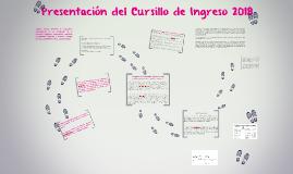 Copy of Presentación del Cursillo de Ingreso 2018