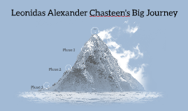 Leonidas Alexander Chasteen's Big Journey