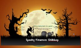 Spooky Finances Skillshop