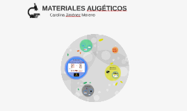 Copy of MATERIALES AUGÉTICOS