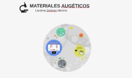 Copy of MATERIALES AUGÉTICOS