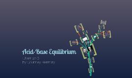 Acid-Base Equilibrium Review
