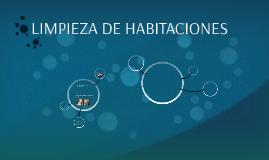 LIMPIEZA DE HABITACIONES