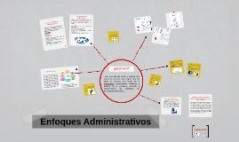 Copy of Enfoques Administrativos