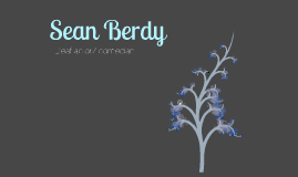 Deaf Culture Project - Sean Berdy