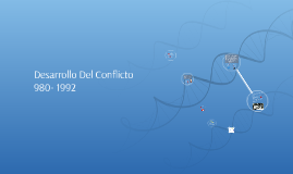 desarrollo del conflicto 980- 1992
