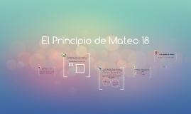 El Principio de Mateo 18