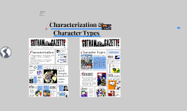 Characterization and Types