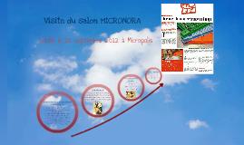 Copy of Visite du salon MICRONORA