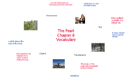 Chapter 6 Vocabulary The Pearl