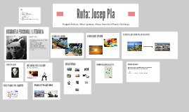 Ruta: Josep Pla