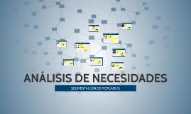 ANÁLISIS DE NECESIDADES