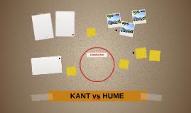 KANT vs HUME