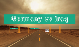 Germany vs Iraq