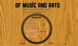 AP BIO: Of Music and Rats
