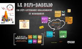 Copy of Le défi-babelio, un défi collaboratif et numérique