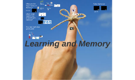 Lecture 14: Learning and Memory