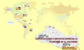 EXPORTACIONES E IMPORTACIONES EN LA ECONOMIA DE EL SALVADOR