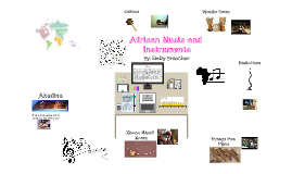 Copy of African Music and Instruments