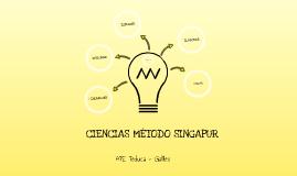 CIENCIAS MÉTODO SINGAPUR