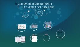 SISTEMA DE DISTRIBUCIÓN DE             LA ENERGÍA DEL TROLE