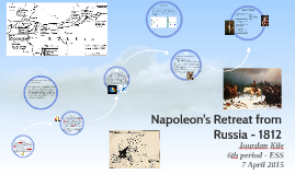 Napoleon's Retreat from Russia - 1812