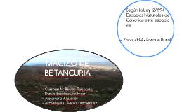 MACIZO DE BETANCURIA
