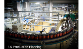 5.5 Production Planning