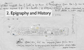 2. Epigraphy and History (Aristocracy and Democracy, 550-450)