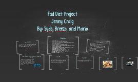 Fad Diet Project