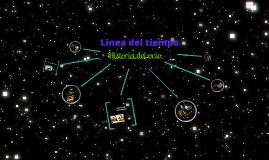 Copy of Linea del tiempo del ocio
