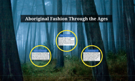 Aboriginal Fashion Through the Ages