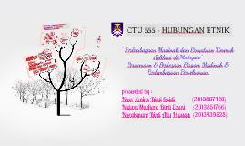 CTU 555 - HUBUNGAN ETNIK