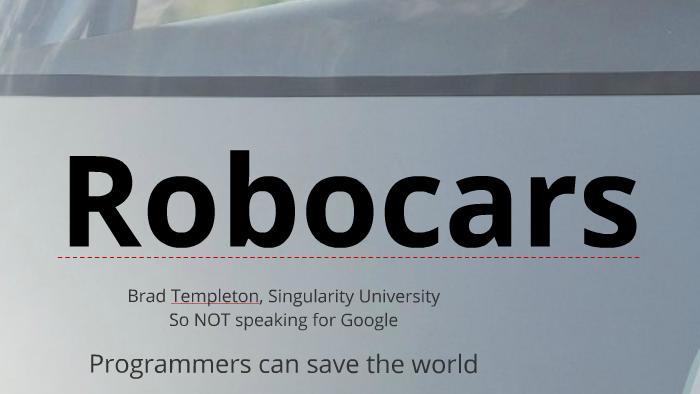 Robocars & Insurance