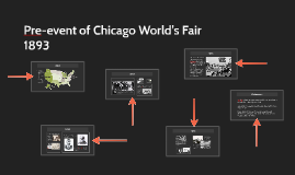 Pre-event of Chicago World's Fair 1893