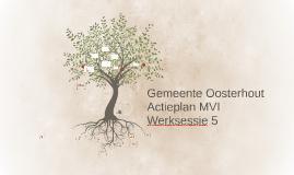Gemeente Oosterhout werksessie 5